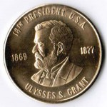 Ulysses Grant Coin 1869